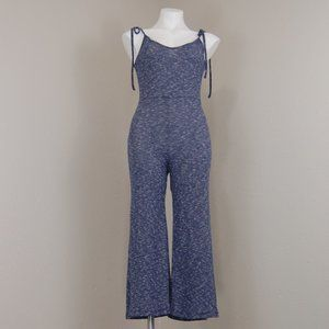 Lulu's | cozy daze heather ribbed jumpsuit | M